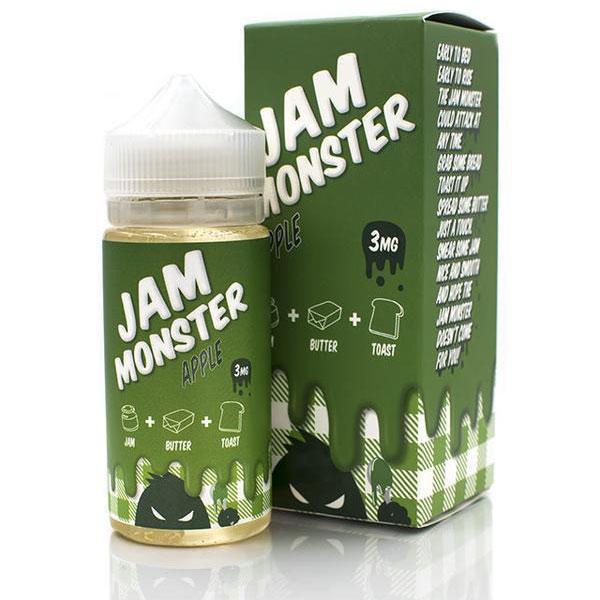 Jam-Monster-Apple-100ml-Eliquid-By-Vapebazaar