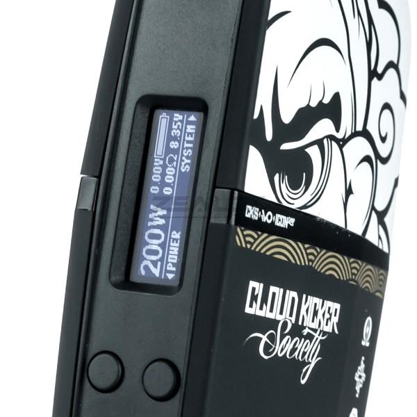 CKS ICON 200W TC BOX MOD