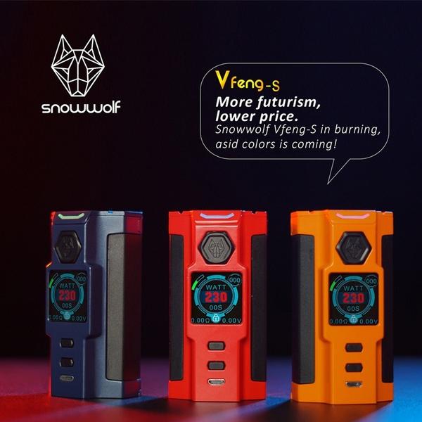 SIGELEI SNOWWOLF VFENG-S 230W STARTER KIT Online Vape Shop