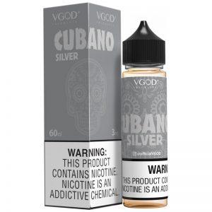 CUBANO silver EJUICE VGOD 60ml 3mg 6mg Nicotine in pakistan
