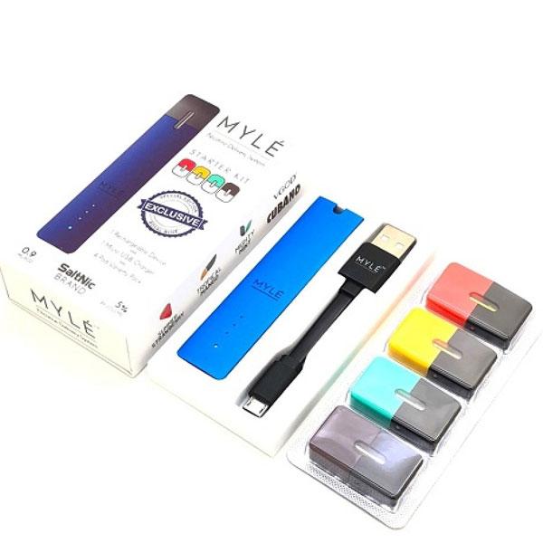 MYLE Vapor Closed System Starter Kit With 4 PODS