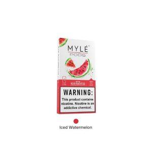 Iced Watermelon Myle Pods-e-liquids