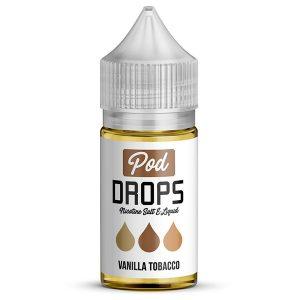 Pod-Drops-Salt-Vanilla-Tobacco-buy-from-vapebazaar